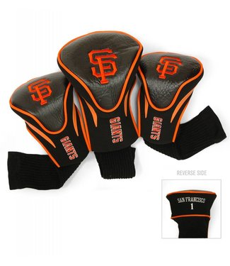 Team Golf SAN FRANCISCO GIANTS 3 Pack Contour Golf Head Covers
