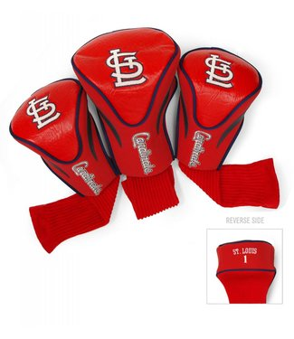 Team Golf ST LOUIS CARDINALS 3 Pack Contour Golf Head Covers