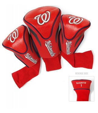 Team Golf WASHINGTON NATIONALS 3 Pack Contour Golf Head Covers
