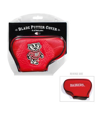 Team Golf WISCONSIN BADGERS Blade Golf Putter Cover