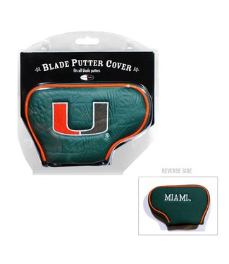Team Golf MIAMI HURRICANES Blade Golf Putter Cover