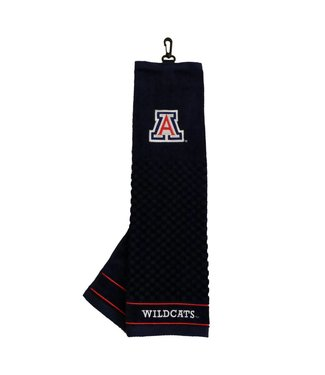 Team Golf ARIZONA WILDCATS Embroidered Golf Towel