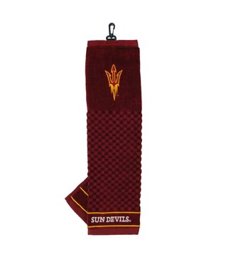 Team Golf ARIZONA STATE SUN DEVILS Embroidered Golf Towel