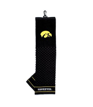Team Golf IOWA HAWKEYES Embroidered Golf Towel