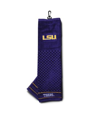 Team Golf LSU TIGERS Embroidered Golf Towel
