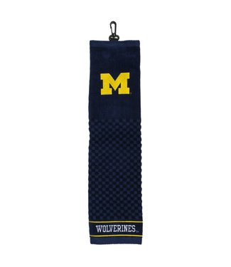 Team Golf MICHIGAN WOLVERINES Embroidered Golf Towel