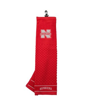 Team Golf NEBRASKA CORNHUSKERS Embroidered Golf Towel