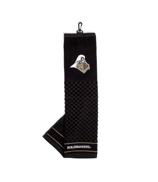 Team Golf PURDUE BOILERMAKERS Embroidered Golf Towel