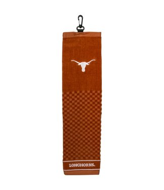 Team Golf TEXAS LONGHORNS Embroidered Golf Towel