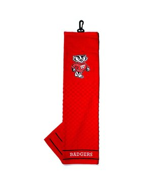Team Golf WISCONSIN BADGERS Embroidered Golf Towel