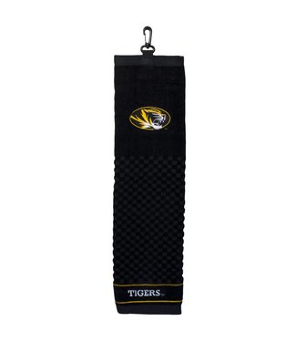 Team Golf MISSOURI TIGERS Embroidered Golf Towel