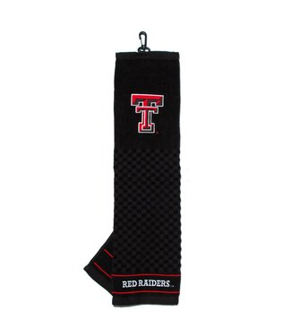 Team Golf TEXAS TECH RED RAIDERS Embroidered Golf Towel