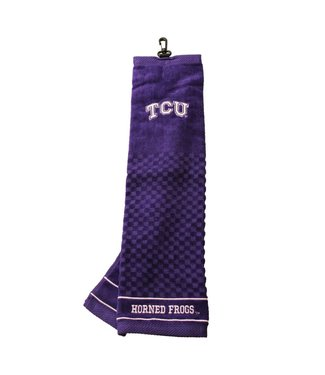 Team Golf TCU HORNED FROGS Embroidered Golf Towel