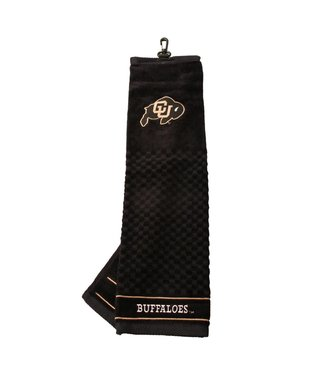 Team Golf COLORADO BUFFALOES Embroidered Golf Towel