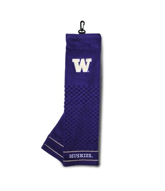 Team Golf WASHINGTON HUSKIES Embroidered Golf Towel