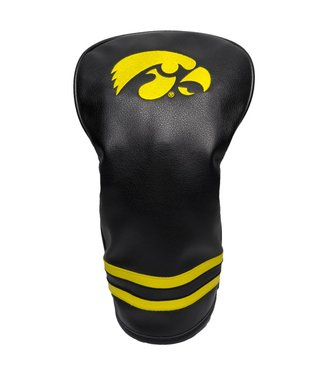 Team Golf IOWA HAWKEYES Vintage Golf Driver Head Cover