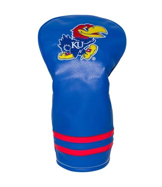 Team Golf KANSAS JAYHAWKS Vintage Golf Driver Head Cover