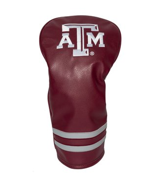 Team Golf TEXAS A&M AGGIES Vintage Golf Driver Head Cover