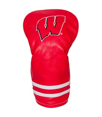 Team Golf WISCONSIN BADGERS Vintage Golf Driver Head Cover