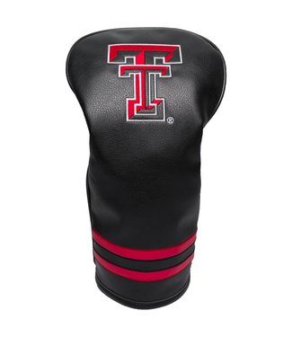 Team Golf TEXAS TECH RED RAIDERS Vintage Golf Driver Head Cover