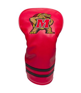 Team Golf MARYLAND TERRAPINS Vintage Golf Driver Head Cover