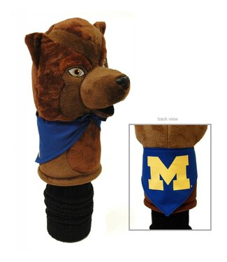 Team Golf MICHIGAN WOLVERINES Mascot Golf Head Cover
