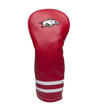Team Golf ARKANSAS RAZORBACKS Vintage Golf Fairway Head Cover