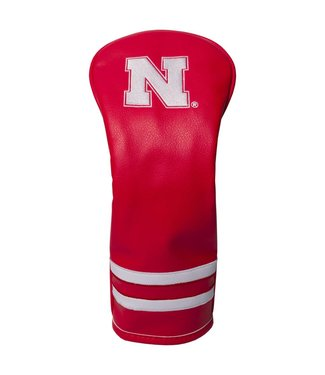 Team Golf NEBRASKA CORNHUSKERS Vintage Golf Fairway Head Cover