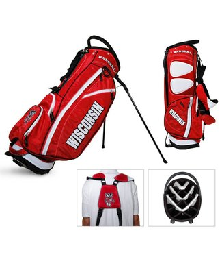 Team Golf WISCONSIN BADGERS Fairway Golf Stand Bag