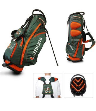 Team Golf MIAMI HURRICANES Fairway Golf Stand Bag