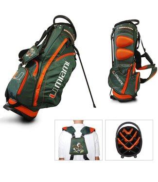 Team Golf MIAMI HURRICANES Fairway Golf Stand Bag