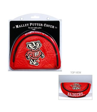 Team Golf WISCONSIN BADGERS Golf Mallet Putter Cover