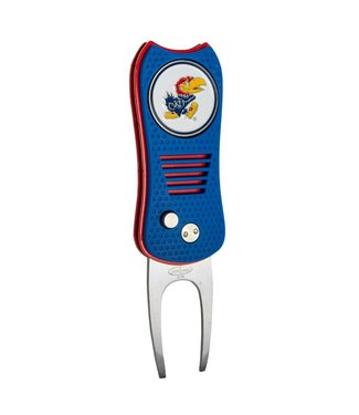 Team Golf KANSAS JAYHAWKS Switchfix Golf Divot Tool