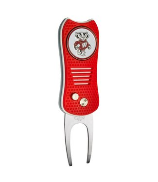 Team Golf WISCONSIN BADGERS Switchfix Golf Divot Tool
