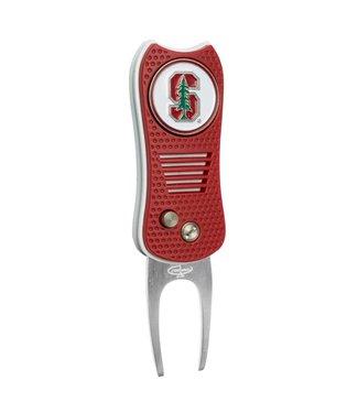 Team Golf STANFORD CARDINAL Switchfix Golf Divot Tool