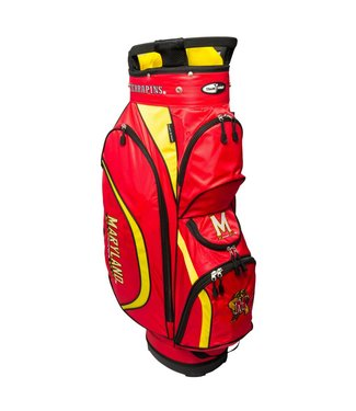 Team Golf MARYLAND TERRAPINS Clubhouse golf Cart Bag