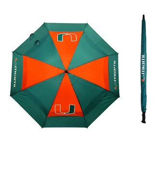 Team Golf MIAMI HURRICANES Oversize Golf Umbrella
