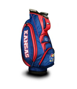 Team Golf KANSAS JAYHAWKS Victory Golf Cart Bag