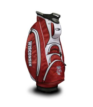Team Golf WISCONSIN BADGERS Victory Golf Cart Bag