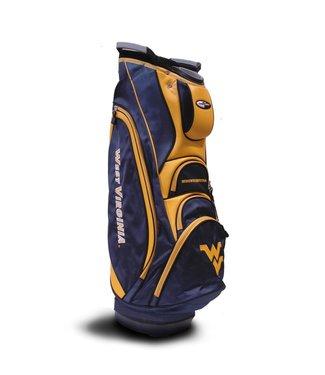 Team Golf WEST VIRGINIA MOUNTAINEERS Victory Golf Cart Bag