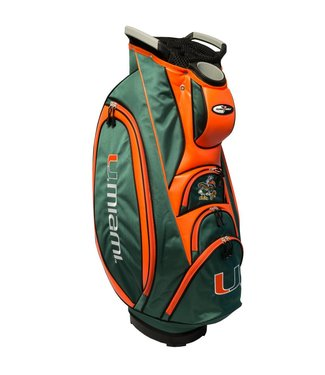 Team Golf MIAMI HURRICANES Victory Golf Cart Bag