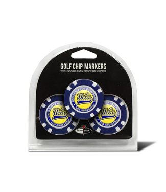 Team Golf UCLA BRUINS 3 Pack Golf Chip Ball Markers