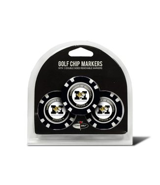 Team Golf MISSOURI TIGERS 3 Pack Golf Chip Ball Markers