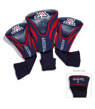 Team Golf ARIZONA WILDCATS 3 Pack Contour Golf Head Covers