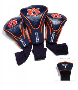 Team Golf AUBURN TIGERS 3 Pack Contour Golf Head Covers