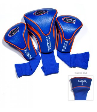 Team Golf FLORIDA GATORS 3 Pack Contour Golf Head Covers
