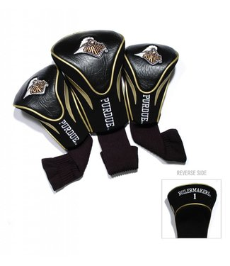 Team Golf PURDUE BOILERMAKERS 3 Pack Contour Golf Head Covers