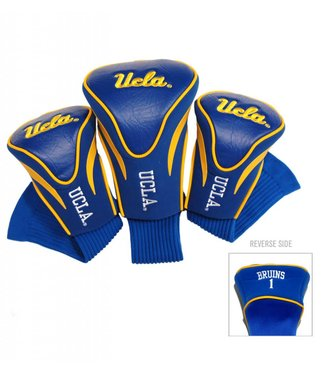 Team Golf UCLA BRUINS 3 Pack Contour Golf Head Covers