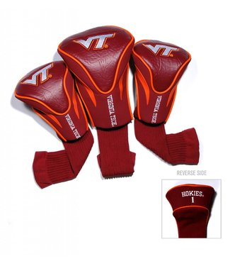Team Golf VIRGINIA TECH HOKIES 3 Pack Contour Golf Head Covers