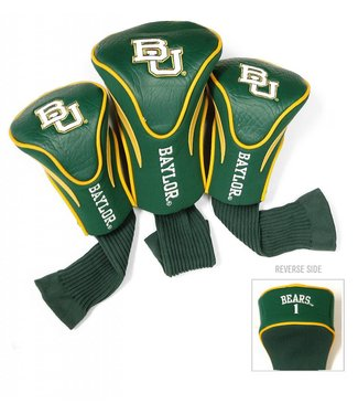 Team Golf BAYLOR BEARS 3 Pack Contour Golf Head Covers